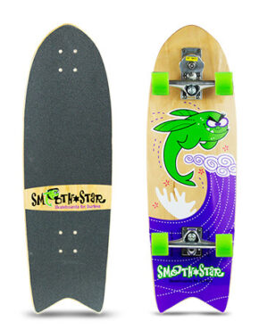 smoothstar flying fish skateboard