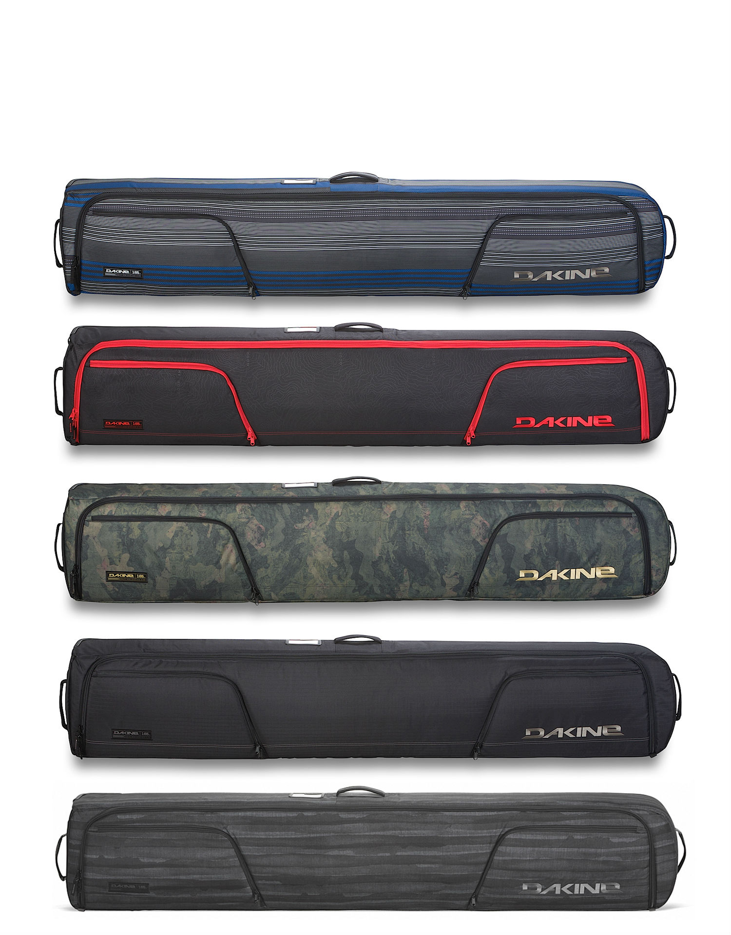 Dakine low roller snowboard bag vertigo surf for Housse snowboard dakine