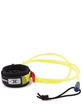 Vertigo Surf OCEAN & EARTH BASIC STRAIGHT BODY BOARD LEASH Yellow