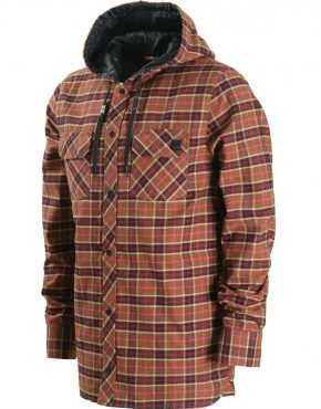 Vertigo Surf VOLCOM Burl Insulated Flannel Jacket