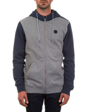 single-stone-colourblock-zip-dark-grey