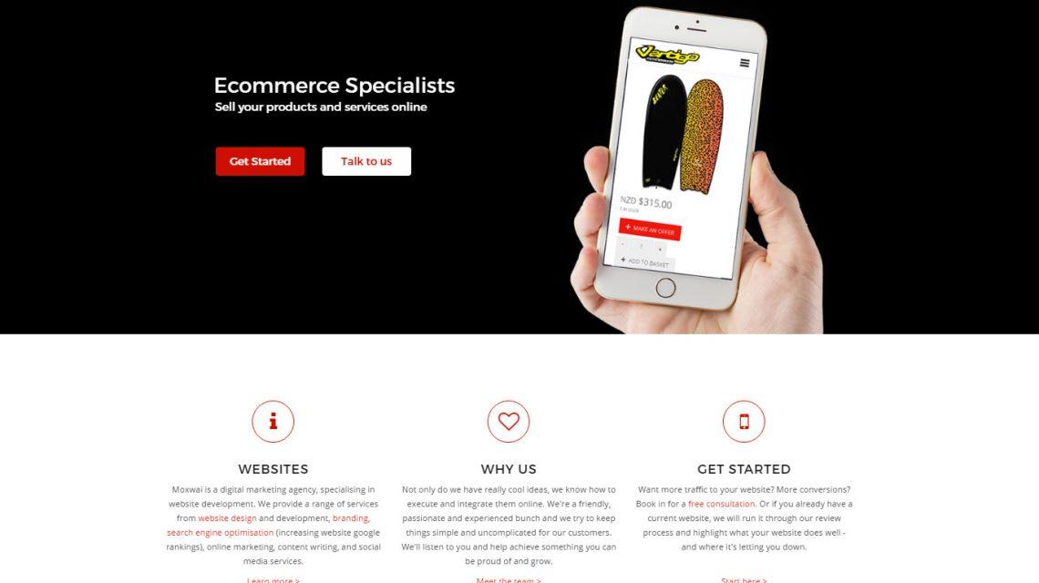 Moxwai com surfers and website designers | Vertigo Surf