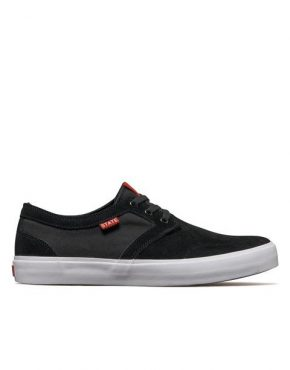 Vertigo Surf State Footwear Bishop Black/White