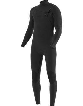 Vissla 7 Seas 3-2 Chest Zip Full Suit BLK