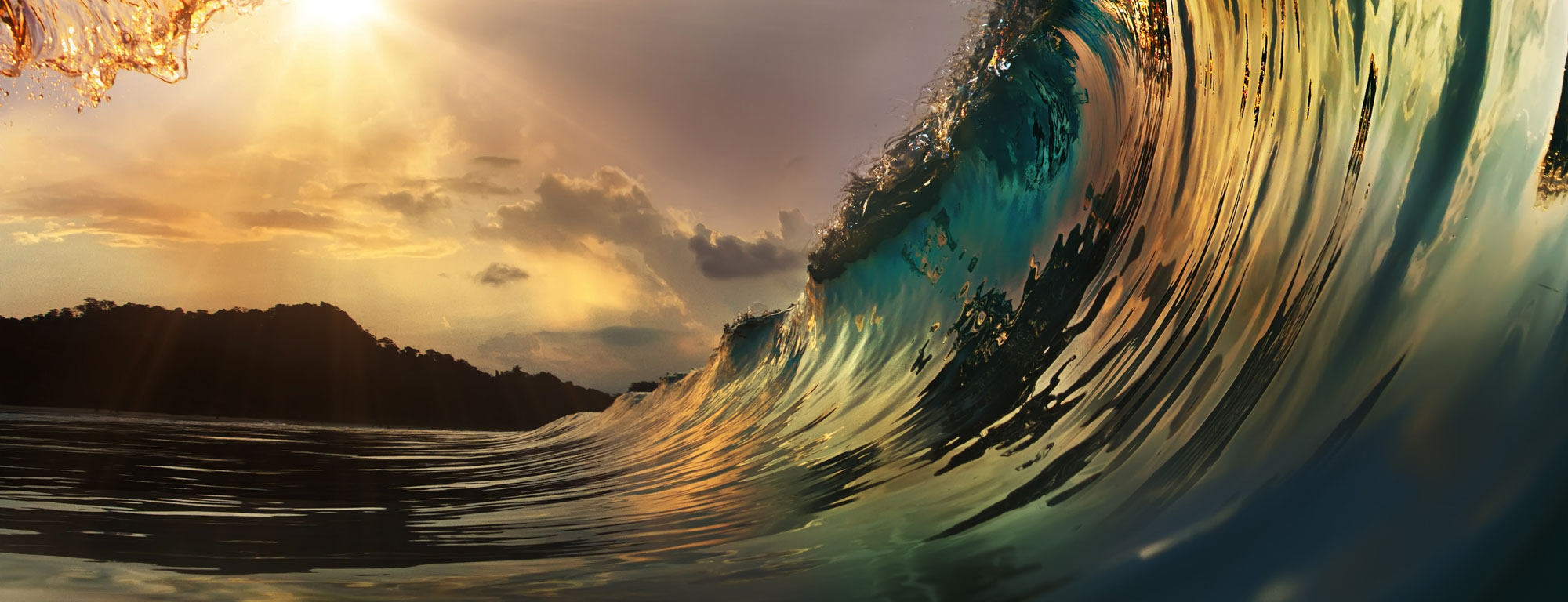 A really nice wave to go surfing on