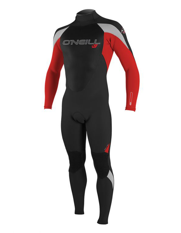 O'Neill YOUTH EPIC 32MM WETSUIT BLACK RED