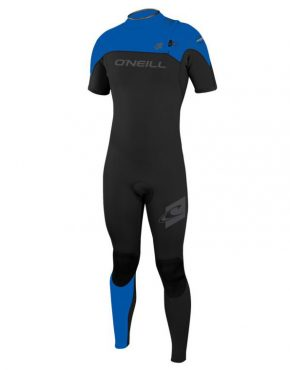 O Neill HYPERFREAK ZIPLESS COMP SHORT SLEEVE FULL 2MM WETSUIT – BLACK BLUE 0ce61e01c