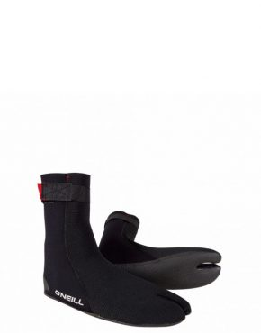 Vertigo Surf O'Neill HEAT NINJA 3MM WETSUIT BOOT - BLACK