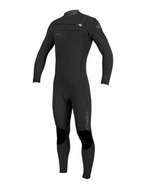 Vertigo Surf O'Neill HYPERFREAK FUZE 3/2MM WETSUIT - BLACK GREY