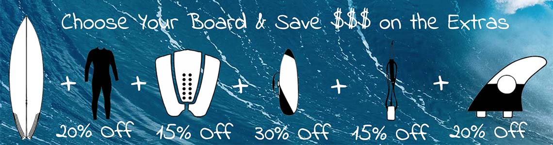 Custom Surfboard Deals