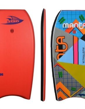 Manta Bodyboard phantom 42 red