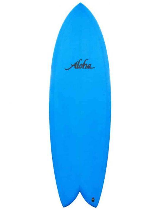 aloha twin fin blue