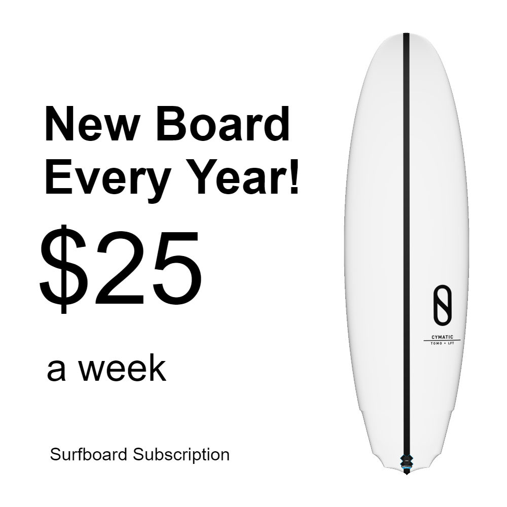 Surfboard subscription