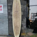 """Local Motion 8'4"""" 22"""" 3"""" Glass on thruster fins"""