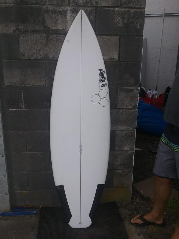 "CHANNEL ISLANDS NEW FLYER 6'0"" TLPC SURFTECH FCS"