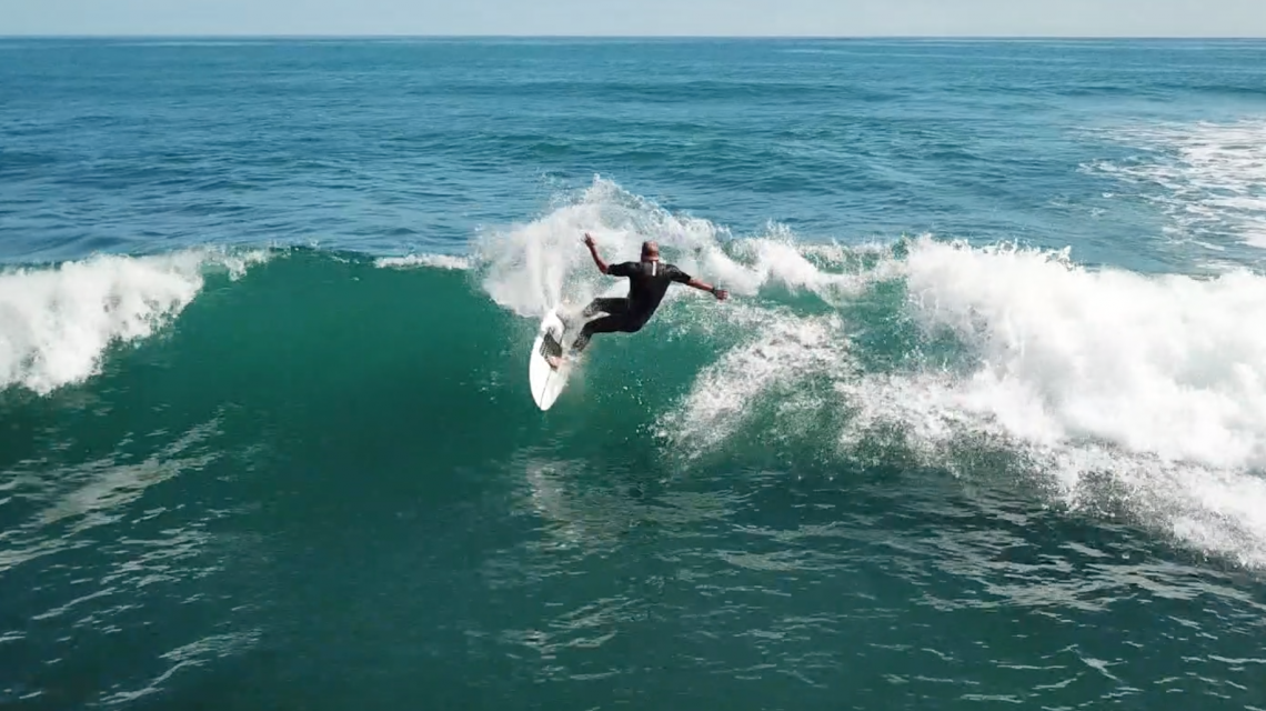 Neal Riding the Firewire No Brainer