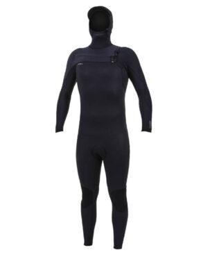 Hyperfreak 5/4+ Hooded Steamer Chest Zip Wetsuit